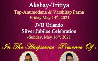 Akshay Tritiya – Tapasvi Parna and Silver Jubilee Celebration